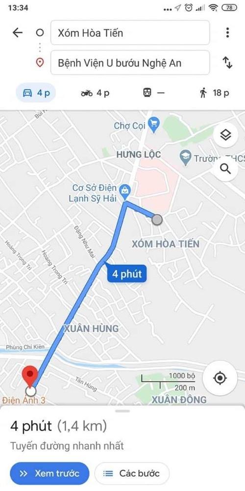 Bán gấp lô góc Hoàng văn Bá, Hoà Tiến, Hưng Lộc 115.8m2, 1.2 tỷ