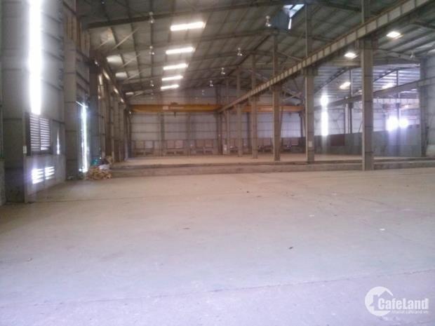 Cho thuê kho xưởng DT 1600m2 KCN Lai Xá Hoài Đức Hà Nội.