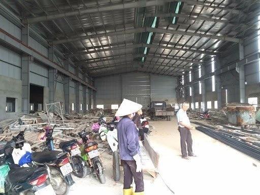 Cho thuê kho xưởng DT 540m2 KCN Từ Liêm, Hà Nội.