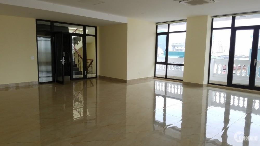 cho thuê nhà mới nguyên căn 9 tầng 170m2 tại mặt phố hoàng quốc việt