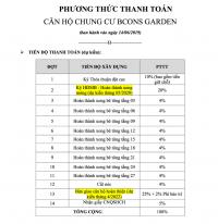 Bcons Garden cần bán gấp căn 2PN 1WC tầng 7 thanh toán chỉ 130tr LH: 0909747071