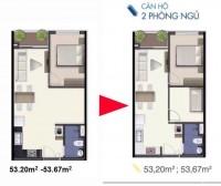 Bán gấp thu vốn căn hộ Q7 Sài gòn Riverside 1.9ty/2PN đường Đào Trí Quận 7