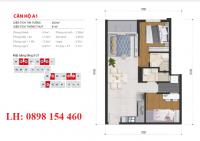 Căn hộ High Intela 4.0 , Mặt tiền Võ Văn Kiệt, Q.8 - 2PN - 2WC