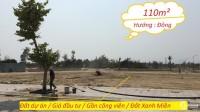 Đất Nền Dự án giá rẻ 110m² Gần trung tâm thương mại - trục đường 33.5m