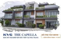 Bảng giá KVG The Capella Nha Trang_khu đô thị khép kín thuộc gói 8 và 6 Mỹ Gia