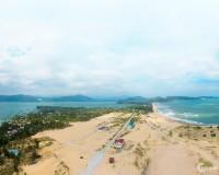Cần bán lô đất 161m2 full thổ cư được bao quanh 3 mặt biển Phú Yên