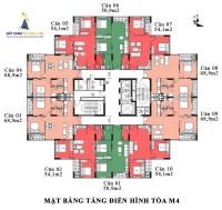 Căn hộ 55m2 giá chỉ từ 17tr/m2 tại Mipec City Hà Đông
