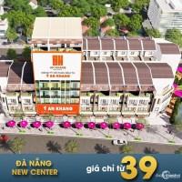 Mở bán Đà Nẵng new center- 10 lô mặt tiền Cách Mạng Tháng 8- sổ đỏ từng lô- Chiể
