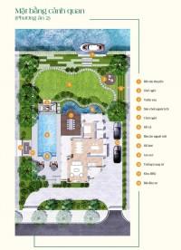 Biệt thự sinh thái ven sông quận 9, gần 1400 m2 giá 21 tỷ, tiện ích đầy đủ