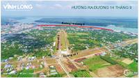 Đất nền chợ Vĩnh Long, sổ hồng, giá bán 1.1 tỷ/ nền 90m2 đường nhựa 30m