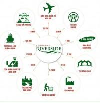 Đô thị xanh Long Châu Riverside ngay sát mặt đường tỉnh lộ 286