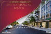 Nhà Phố Thương Mại shophouse Bỉm Sơn Thanh Hóa
