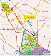 Đất nền thổ cư 125m2 Đức Hòa, Long An 550 triệu.