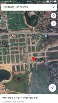 Cần bán gấp lô đất tại khu đô thị mới Nam Vĩnh Yên