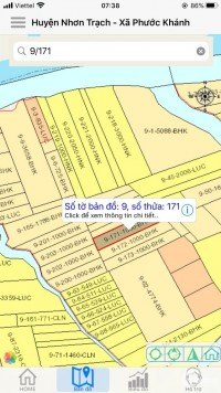cần bán lô đất vườn xã phước khanh .diện tích 1000m2