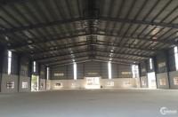 Cho thuê nhà xưởng tại Láng Hòa Lạc, Thạch Thất Hà Nội 3000m2 mới xây