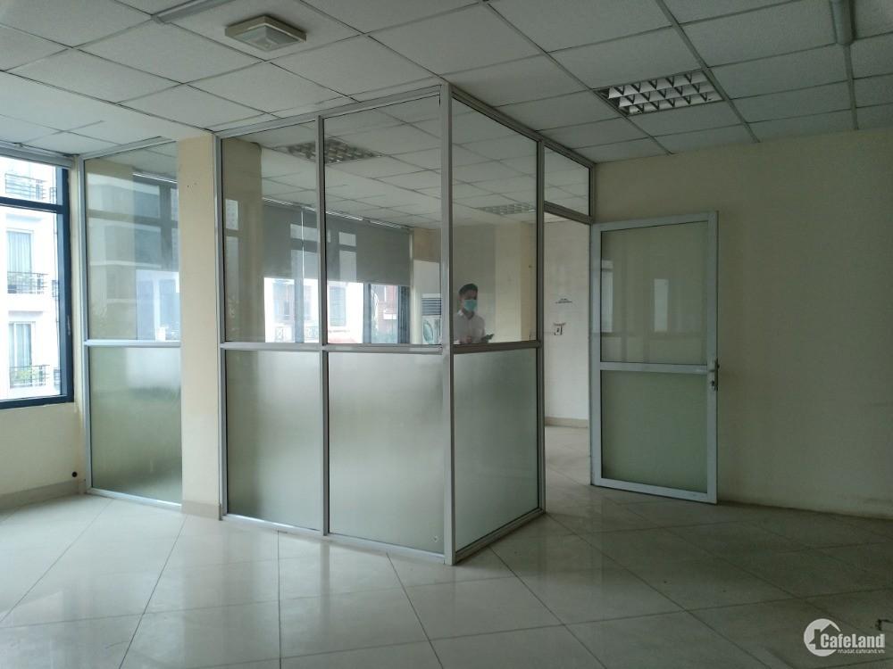 Cho thuê văn phòng tại mặt phố 45 Trung Kính - Cầu Giấy, DT: 170m2 giá 26tr/1 th