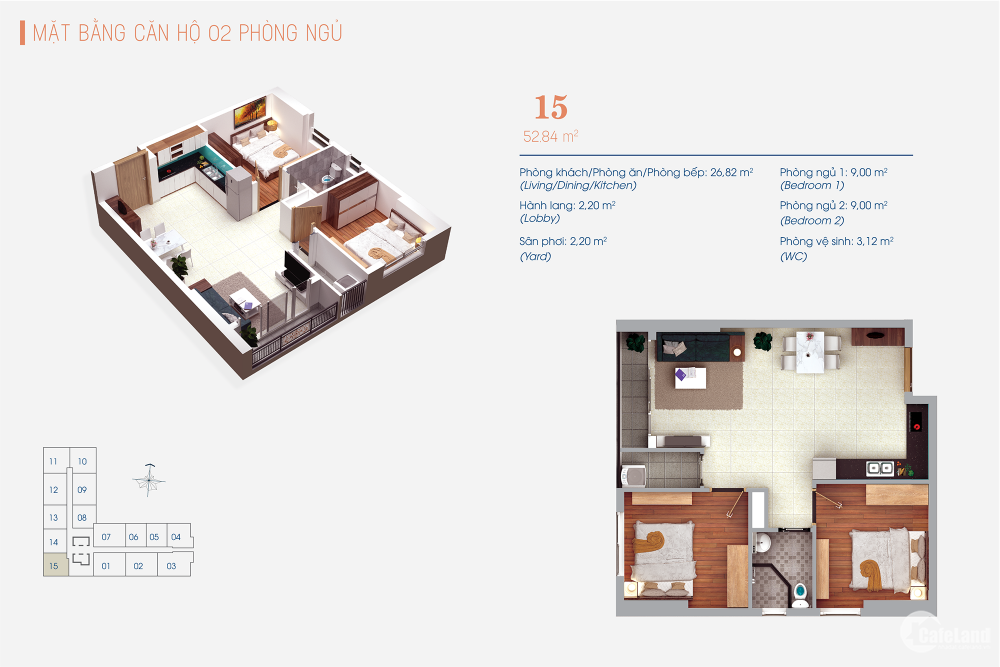 Lựa chọn cuộc sống đẳng cấp tại căn hô Viva Plaza quận 7 chỉ từ 1,9 tỷ /căn 2PN