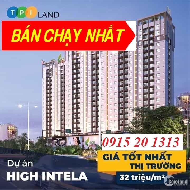 Bán Nội Bộ 2 Căn Hộ Tầng 7 High Intela 2 Pn-64m2, View Quận 1, Giá 2 Tỷ, Q8