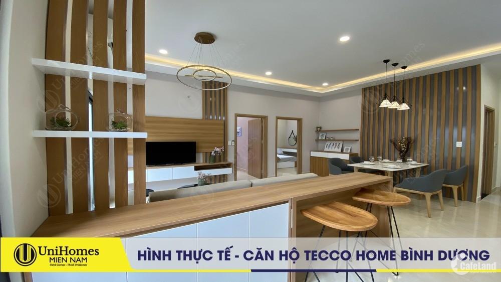 Căn hộ Tecco Home BD chỉ với 999tr/căn 2PN - VietinBank hỗ trợ 70%, CK đến 10%