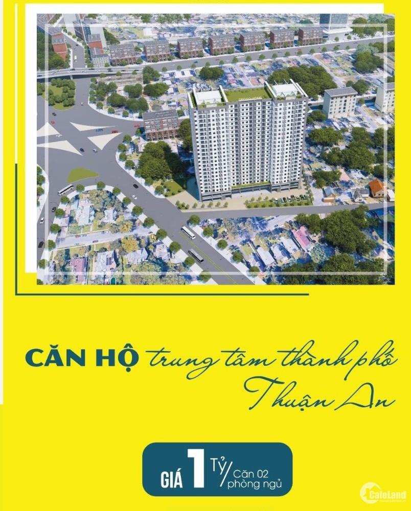 CĂN HỘ TECCO HOME AN PHÚ - 2PN CHỈ TỪ 1 TỶ, BOOKING SỚM NHIỀU ƯU ĐÃI VÀ CK CAO