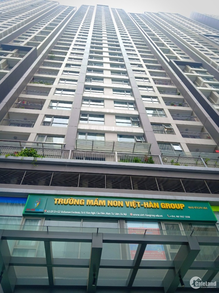 Mặt Bằng kinh doanh Shophouse Vinhomes Gardenia - Hàm Nghi 367m2