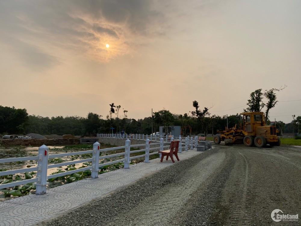 Đất nền sổ đỏ Khu Công Nghệ Cao Hòa Lạc từ 1,5 tỷ vị trí thuận lợi gần quốc lộ