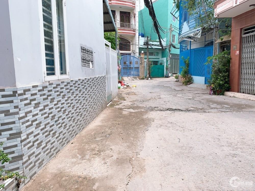Hẻm 1 Xẹt, Lô Góc đường Phan Văn Trị, Bình Thạnh, Dt 51m2. Giá 4 tỷ.