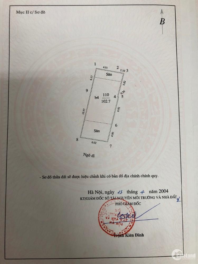Cần bán nhà CHÍNH CHỦ 107m2 tại Tạ Quang Bửu thu về 400tr mỗi năm