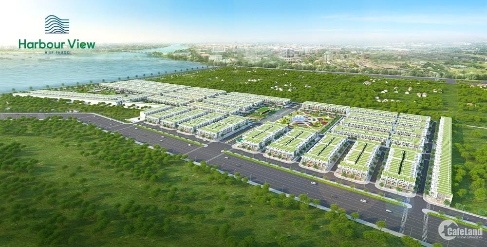 Đất nền sổ đỏ 80m2 giá 1.3 tỷ/nền - Hiệp Phước Harbour View - pháp lý hoàn thiện