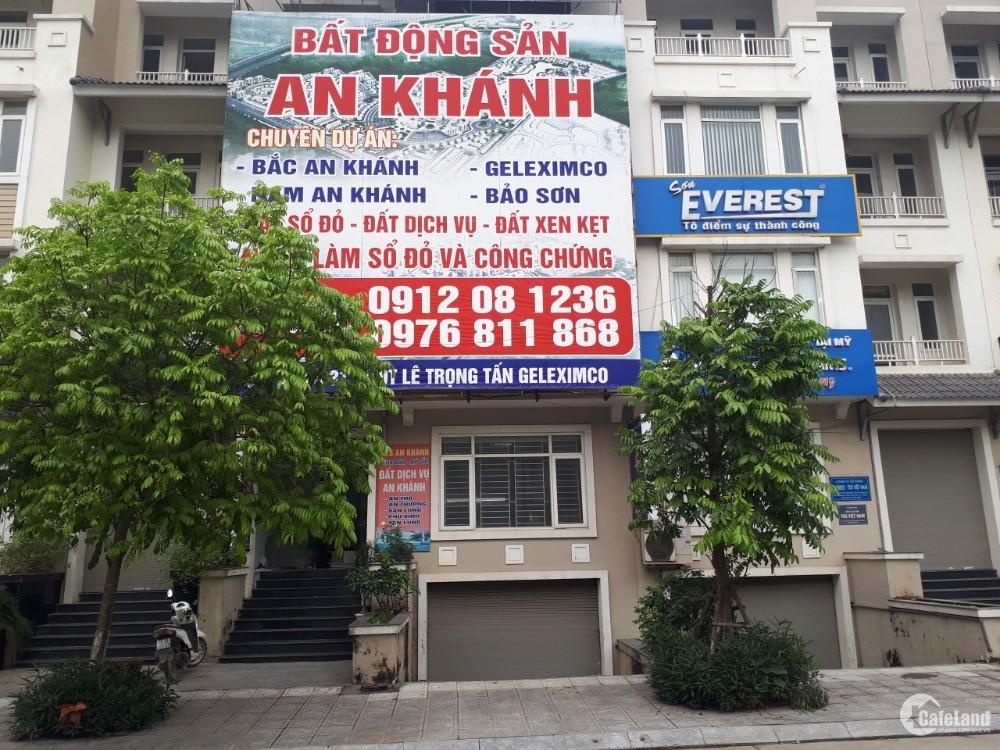 Bán 78.3m2 đất dịch vụ(SĐCC) tại An Khánh,Hoài Đức ,Hà Nội.Liên hệ 0981659382
