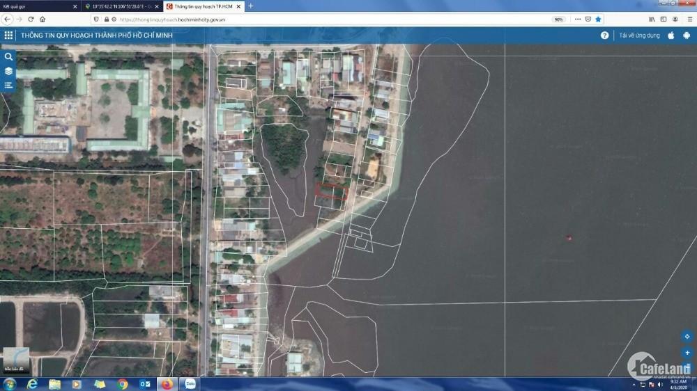 Bán đất nghĩ dưỡng Cần Giờ. - Vị trí : Xã Tam Thôn Hiệp , Huyện Cần Giờ