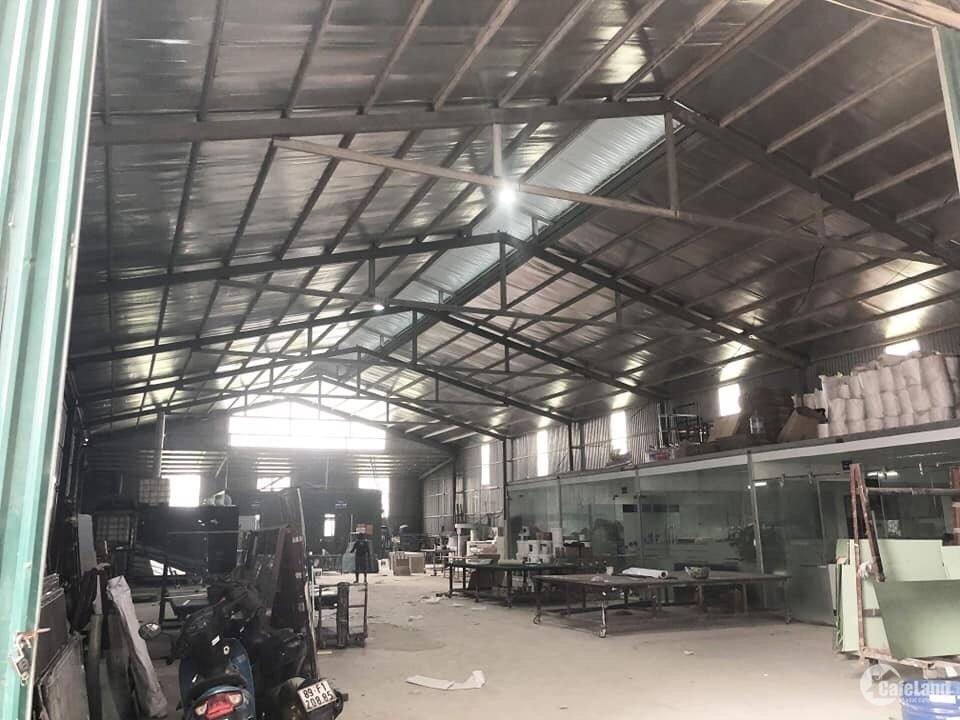 Cho thuê kho xưởng DT 600m2 KCN An Khánh Hoài Đức Hà Nội.