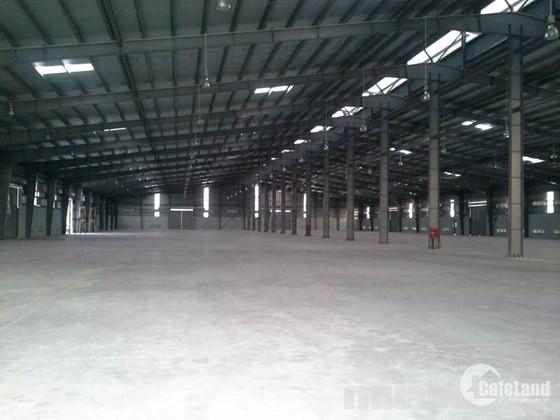 Cho thuê kho xưởng DT 5000m2 KCN Vsip, Từ Sơn, Bắc Ninh.