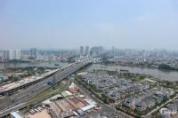 Bán căn hộ 2PN, 90m2, view sông, Vinhomes Central Park, giá 6.8 tỷ.