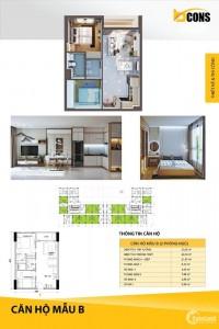 Chính chủ bán gấp căn hộ Bcons Miền Đông - 2PN 2WC - diện tích 54m2 - tầng trung
