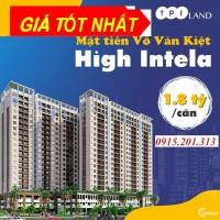 Tầng 7, 8, 10 Giá 2 Tỷ Căn Hộ High Intela 2Phòng Ngủ -64.5m2, Tặng 1 Chỉ Vàng, V