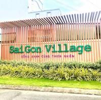 Bán đất thổ cư KDC - Sài Gòn Village 5x16, sổ riêng, giá 1ty330/ nền A5