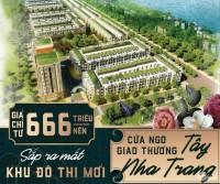 Đất nền Biệt Thự Sinh Thái ngoại ô NHA TRANG, Chỉ  hơn 600Tr/nền (160m2). ww