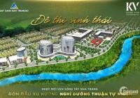 Bán Đất biệt thự sinh thái view sông Nha Trang, sổ đỏ thổ cư chỉ 666tr/nền