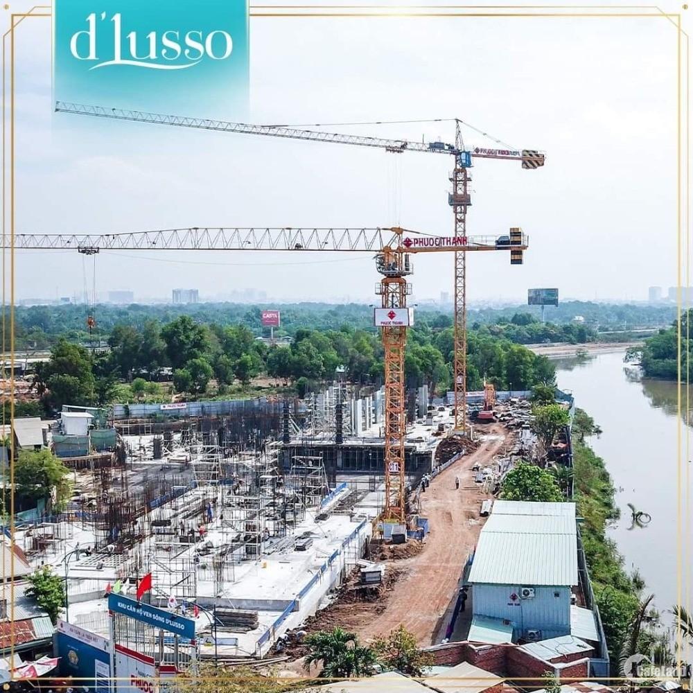 Chỉ cần 1,2 tỷ sở hữu căn hộ Dlusso ven sông quận 2. TT 30% đến khi nhận nhà.