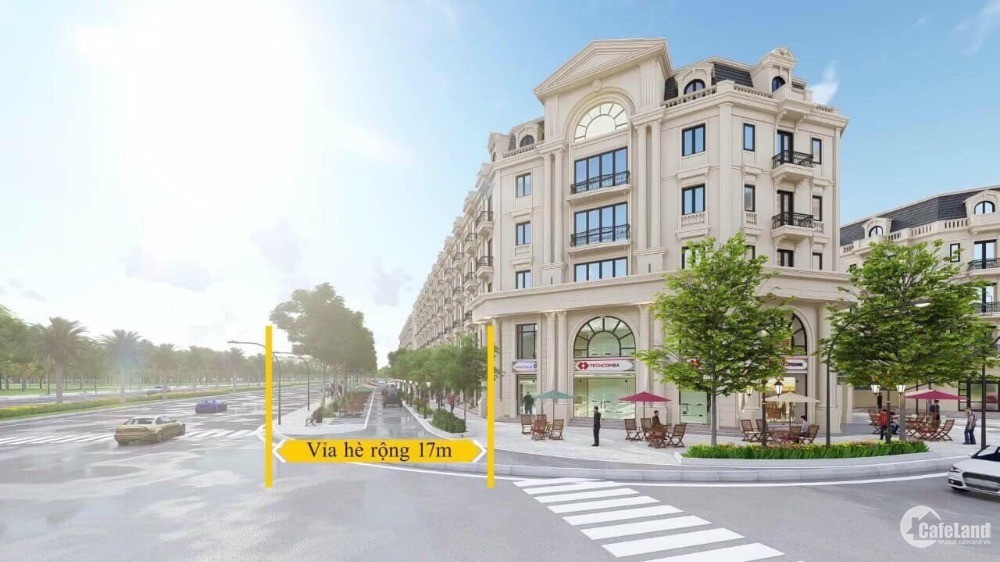 Đầu tư shophouse, liền kề Hà Nội giá chỉ từ 6.8 tỷ
