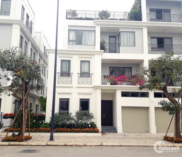 Biệt thự song lập 200m2, quận Hoàng Mai, bể bơi trước cửa nhà