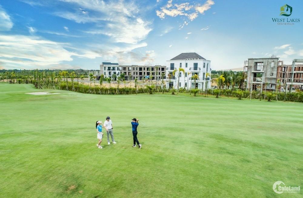 Bán gấp biệt thự West Lakes Golf & Vilas giá chỉ từ 2,85 tỷ/căn