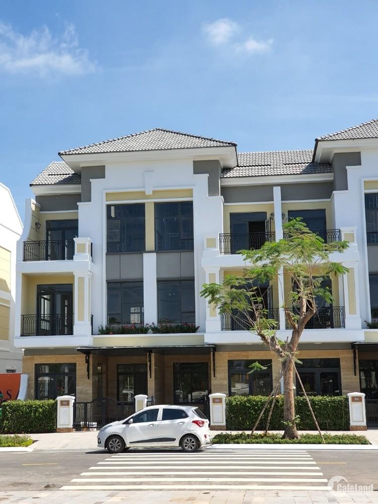 nhà phố liền kề Verosa Park khang điền 1 trệt 3 lầu ,dtxd 178m2, tặng nt 500tr