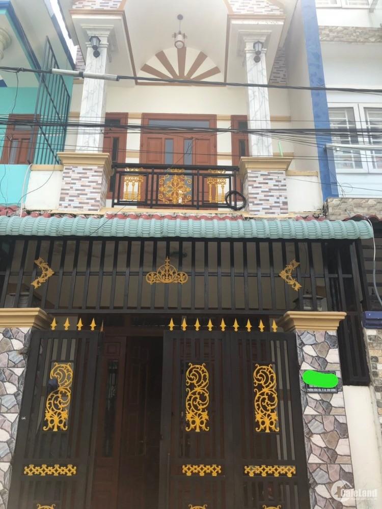 Bán gấp nhà 1 lầu 1 trệt sát đường Trần Hưng Đạo, TP Dĩ An