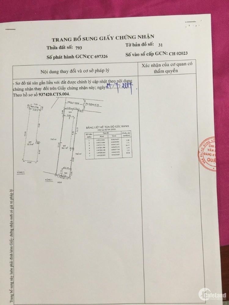 Bán nhà riêng tại P. Phước Long A, Quận 9, TPHCM, diện tích 80m2 giá chỉ 4,5 tỷ