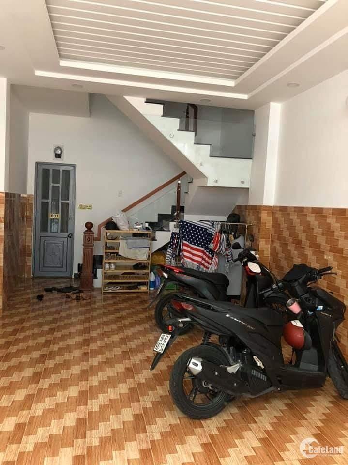 Bán CHDV Lê Văn Thọ, Gò Vấp, 4 tầng, 10 phòng cho thuê 45tr/ tháng, giá 7.25 tỷ.