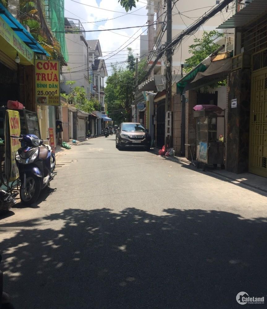 Bán gấp nhà Hẻm 6m Gò Cẩm Điệm, Tân Bình, 4,3x12m, 3 lầu , chỉ 6 tỷ
