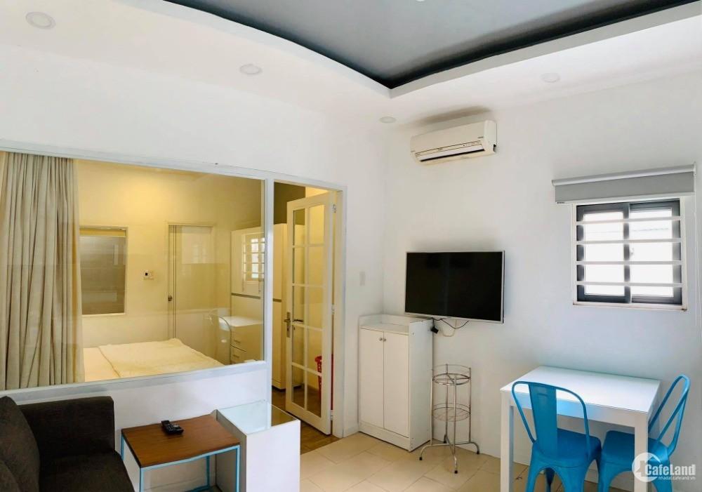Căn hộ 1PN đầy đủ nội thất gần cầu Nguyễn Văn Cừ